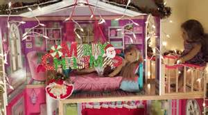 amerikanische dekoration decorating american doll house for