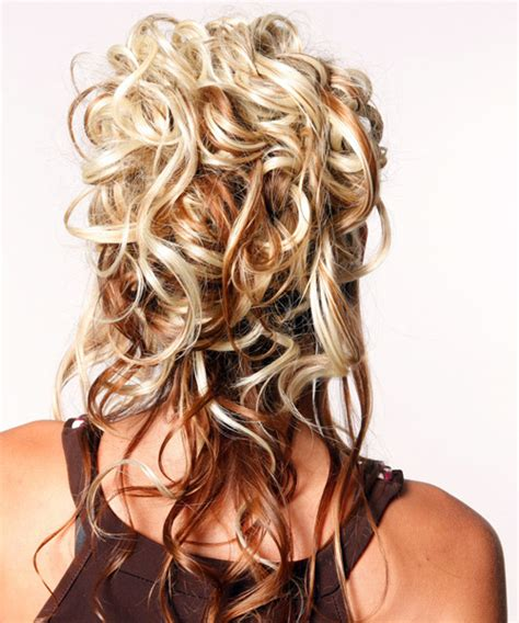 formal hairstyles with curls curly formal hairstyles half up long curly formal