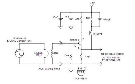 self resonant air inductor inductor self resonance tester measuring and test circuit circuit diagram seekic