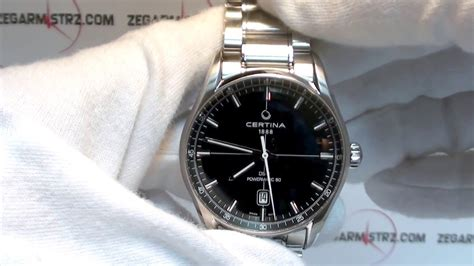 C029 Black certina ds1 gent powermatic 80 c029 407 11 051 00 www