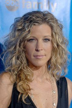 cpic of curly general hospital laura wright curly hair how to dye your hair at home