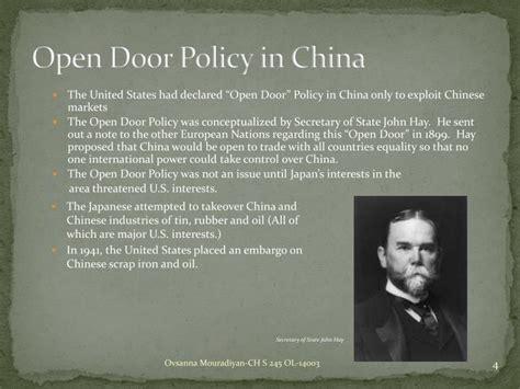 Open Door Policy China by Ppt A People S History Of The United States By Howard
