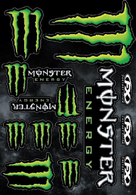 Monster Aufkleber Kaufen by 9 St 252 Ck Monster Energy Sticker Aufkleber Set Kralle