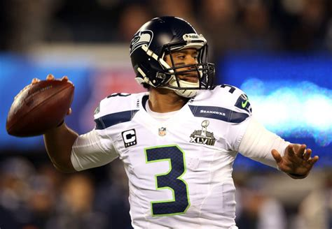 super bowl xlviii russell wilson has a why not us new super bowl xlix jersey logos media day player worn