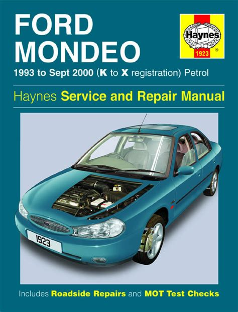 haynes manual ford mondeo petrol diesel oct 2000 jul haynes workshop repair owners manual ford mondeo petrol 93 sept 00 k to x ebay