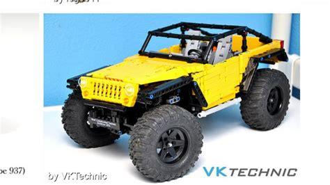 minecraft jeep wrangler lego technic jeep jk lego technic vehicles