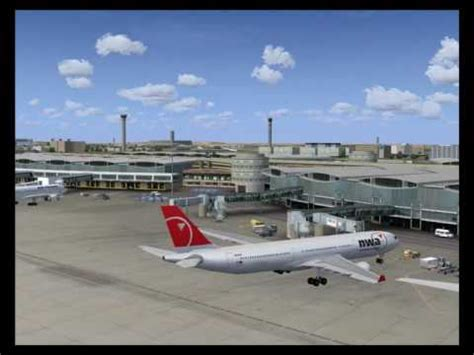 charles de gaulle airport fsx youtube