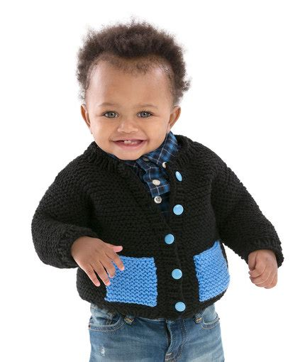 Baby Hugs Medium Warna 4825 classic baby cardigan