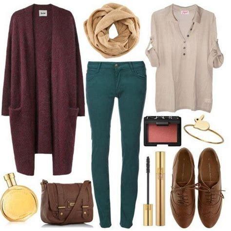 Fall Wardrobe Ideas by 15 Fall Fashion Combinations