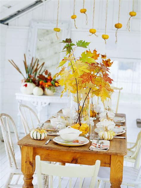 simple thanksgiving table decorations ideas tutorials