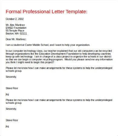 professional letter word documents