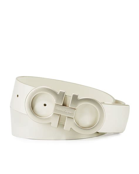 Ferragamo White ferragamo belt white www pixshark images galleries