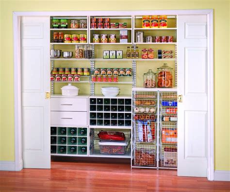 kitchen closet shelving ideas kitchen pantry ideas to create well managed kitchen at home homestylediary com