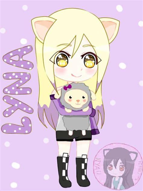 imagenes animadas de una niña lyna by yui chan24 on deviantart