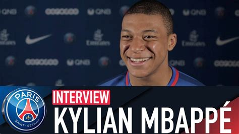 kylian mbappe youtube interview kylian mbappe uk youtube