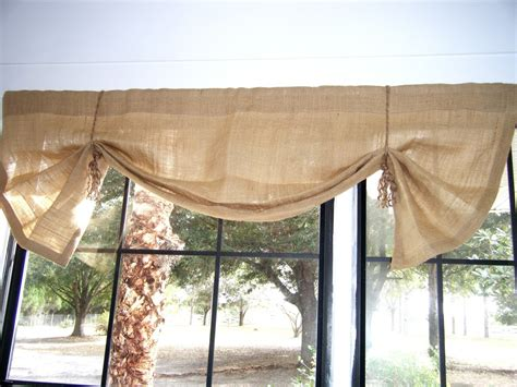 where can i buy burlap curtains decorations burlap window treatments for cute interior