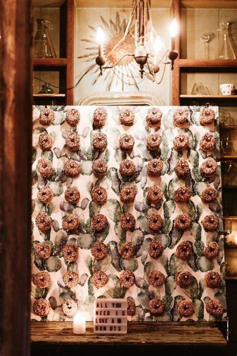 adorable wedding donut bar ideas