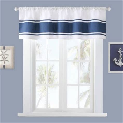 nautical bathroom window curtains buy nautical curtains from bed bath beyond