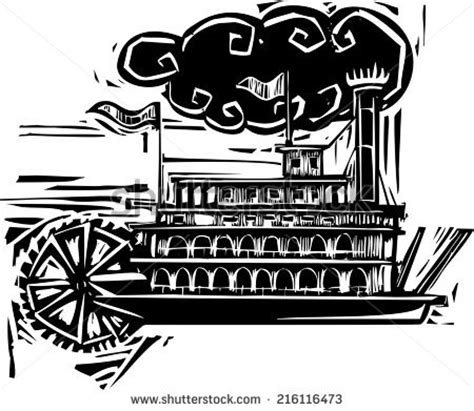 steamboat vector steamboat stock photos images pictures shutterstock