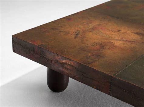 Lorenzo Coffee Table Lorenzo Burchiellaro Coffee Table In Copper For Sale At 1stdibs