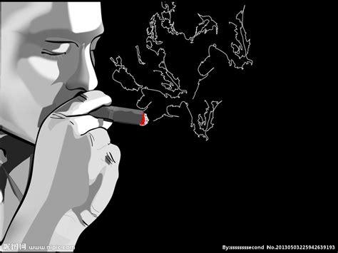 sketchbook hitam 抽烟设计图 动漫人物 动漫动画 设计图库 昵图网nipic