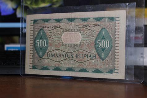 Uang Kertas100 Lama Uang Kertas 500 Lama jual uang kertas kuno lama mahar 500 rupiah 1952 uang lama