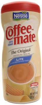 Coffee Mate Powder Creamer Canisters
