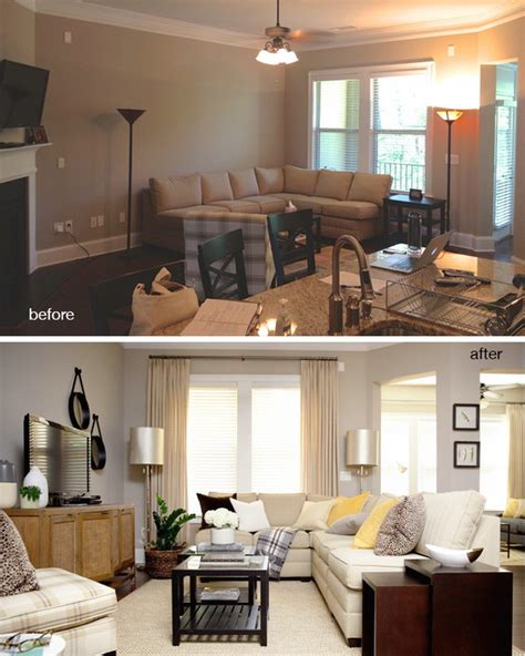 living room redo before and after great living room renovation ideas hative