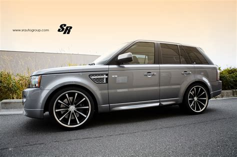 wheels range rover range rover sport on vossen cv1 22 inch wheels autoevolution