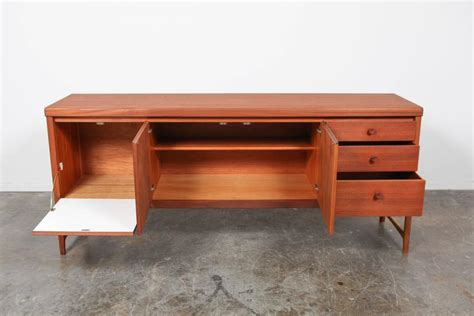 mid century modern teak sideboard by nathan