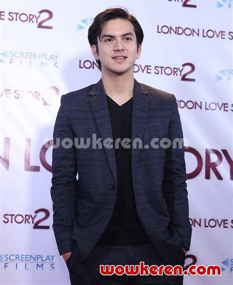 lagu yg di film london love story foto rizky nazar di gala premier film london love story 2