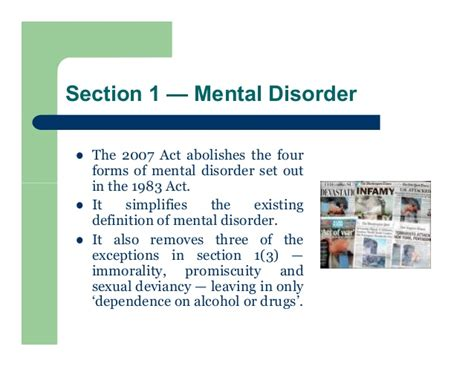 section 3 of the mental health act 1983 mental disorder and the criminal law england and wales