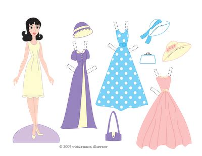 paper dress up dolls template 41 free paper doll and printable dress ups and