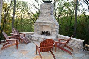 outdoor brick corner fireplace the great combination for