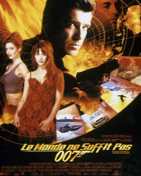 film james bond in streaming le monde ne suffit pas film 1999 allocin 233