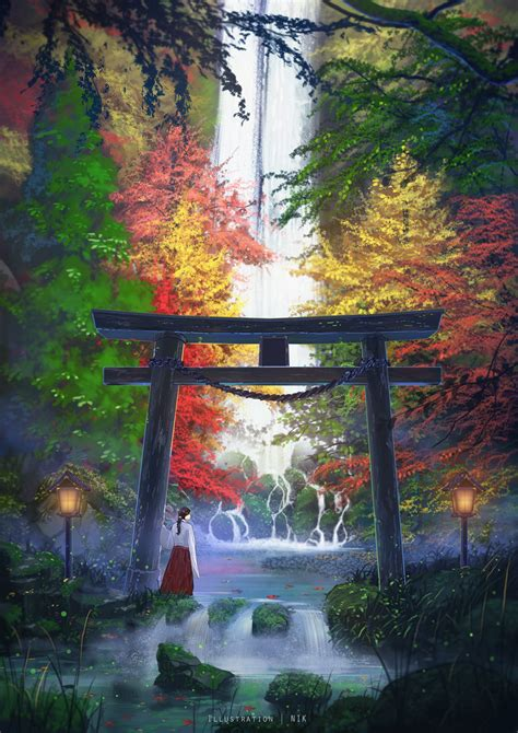 japanese women digital art artwork portrait display
