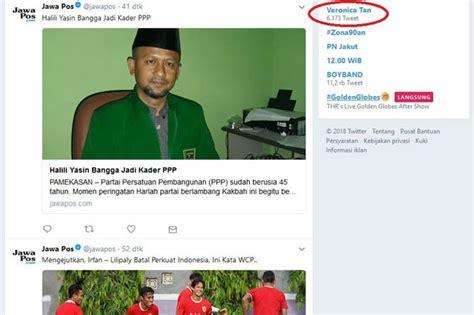 ahok tersangka trending topic twitter dihiasi tentang ahok gugat cerai vero jadi trending topic netizen banyak