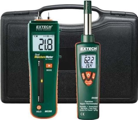 Jual Extech Rh490 Precision Hygro Thermometer extech mo260 rk restoration kit includes mo260