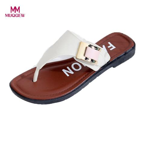 Sandal Casual Wanita Azcost 1 summer slipper sandals casual shoes home fashion flat flip flops shoes indoor