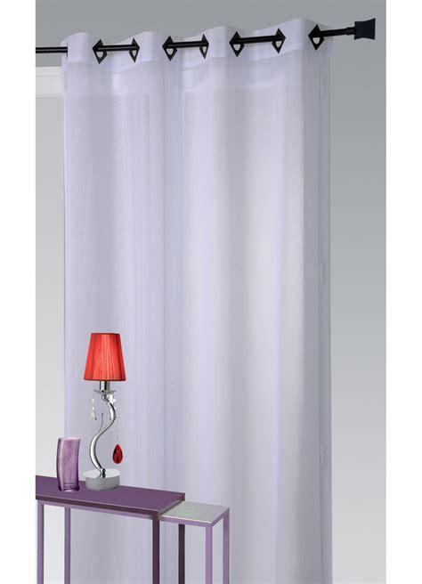 rideau en blanc 5529 voilage en etamine l 233 g 232 re unie blanc naturel parme