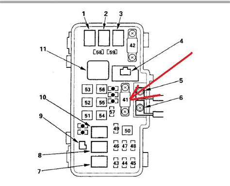 1998 honda accord wiring diagram 98 accord fuse box diagram 98 get free image about