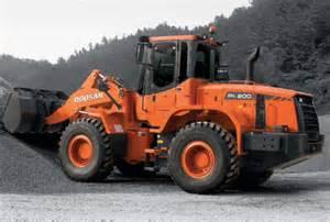 Daewoo Loader Doosan Construction Equipment Wheel Loaders B W