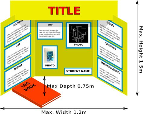 poster board layout for science fair project display boards niwa manukau region science and