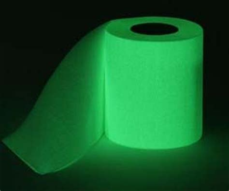 How To Make Glow In The Toilet Paper - glow in the toilet paper household i must