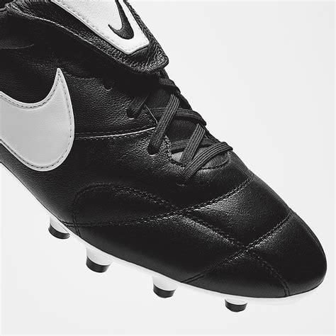 nike premier 2 0 fg black white black football