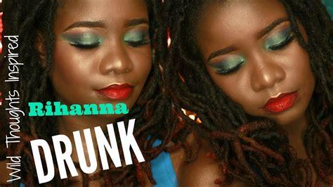 drunk makeup tutorial quotes rihanna quot wild thoughts quot inspired drunk makeup tutorial
