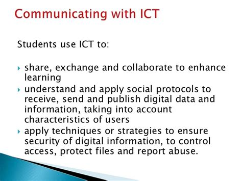 ict information communication technology information communication technology ict capability