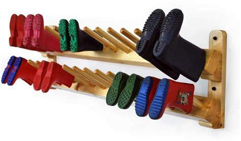 wall welly rack wellington racks for schools and nurseries boot saw