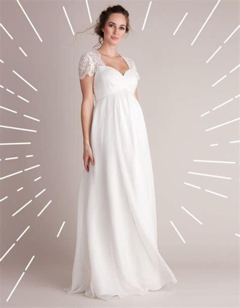Brautkleid Schwanger by Welches Brautkleid F 252 R Schwangere Das Sind Die Sch 246 Nsten