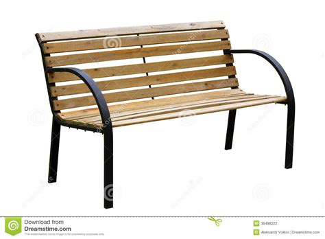 yellow outdoor bench garden bench stock photography image 36488222